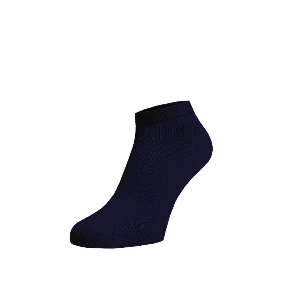 Levně Bambusové kotníkové ponožky Tmavě modré Tmavě modrá Bambus 42-44