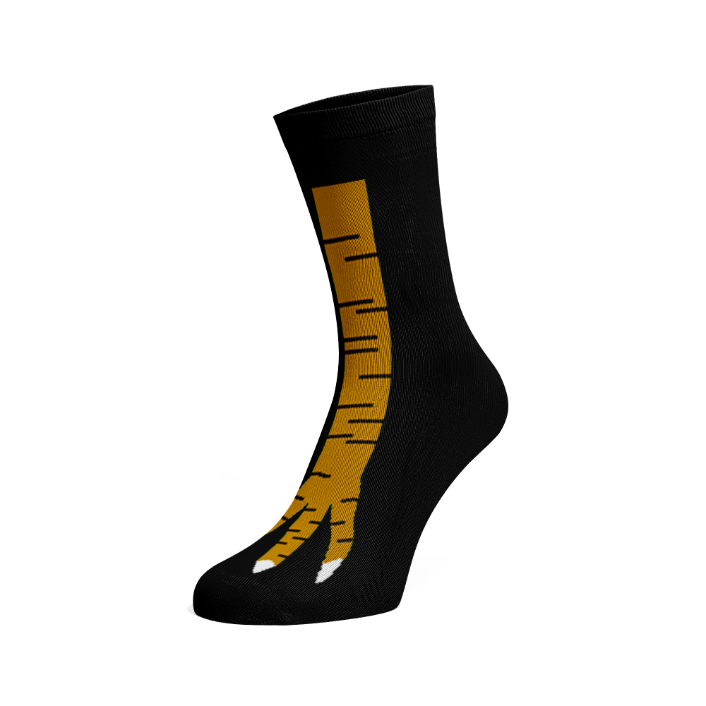 Levně Veselé ponožky Emu Černá 45-46