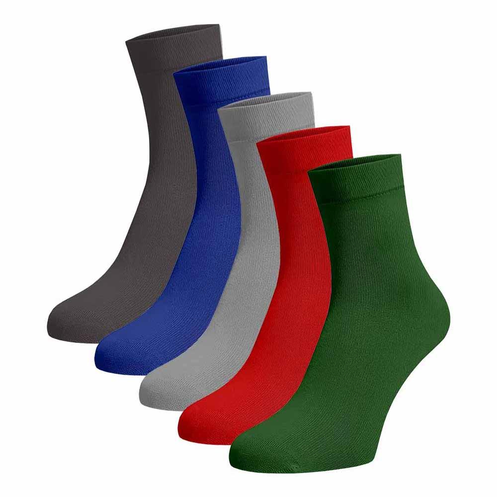 Levně Střední ponožky 5 pack Bavlna 42-44